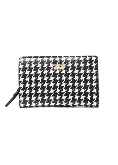 kate spade new york - wallet and more - 【'19春夏新作】CAMERON STREET HOUNDSTOOTH DARA