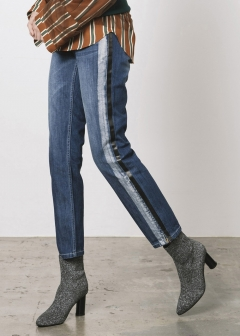 LINE DENIM PANTS
