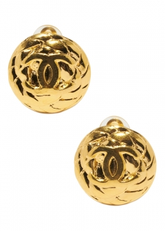 VINTAGE - Accessories - - CHANEL ココイヤリングGD 96A