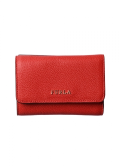 FURLA - wallet and more - 三つ折り財布 / BABYLON 【VERMIGLIO】