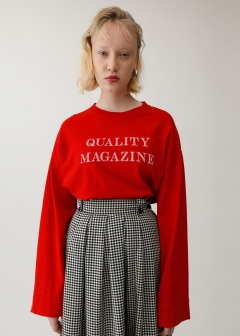 QUALITY MAGAZINE L/S TOP