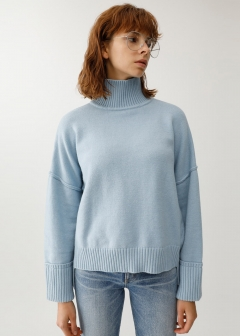DROP SHOULDER KNIT