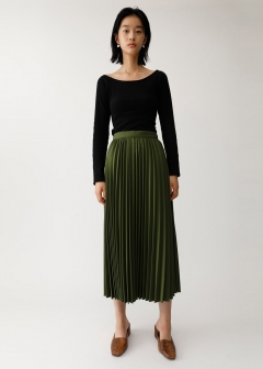PLEATS LONG SK