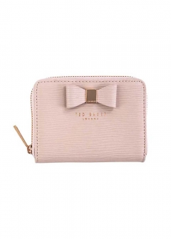 TEXTURED SML ZIP PURSE