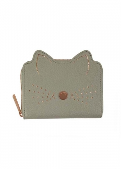 CATS WHISKERS SML ZIP PURSE