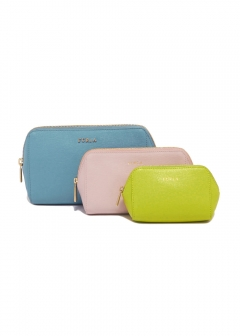 FURLA - wallet and more - 3個セットポーチ/ELECTRA【VERONICA+CAMELIA+RANUNCOL】