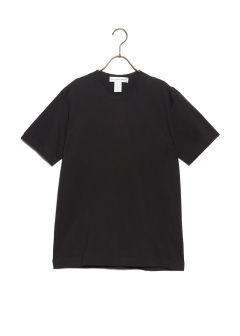 COTTON JERSEY PLAIN WITH CDG LOGO PRINT BACK