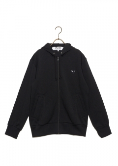 COMME des GARCONS - PLAY BIG HEART LOGO HOODIE