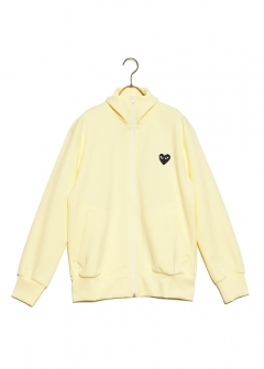 COMME des GARCONS - PLAY HEART LOGO TRACK JACKET