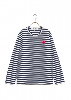 COMME des GARCONS - 【1/14入荷】PLAY STRIPED TEE