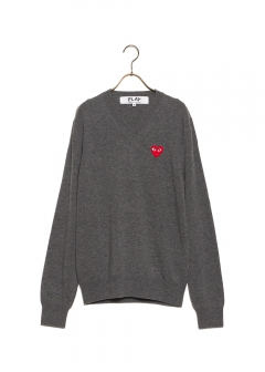 COMME des GARCONS - 【1/14入荷】PLAY V-NECK SWEATER
