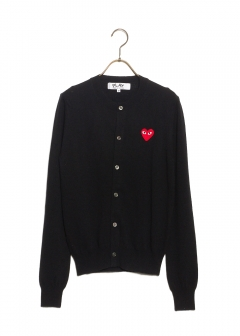 COMME des GARCONS - PLAY CARDIGAN