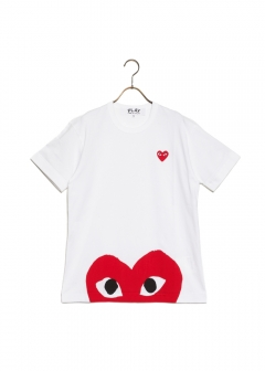 COMME des GARCONS - RED PLAY T-SHIRT