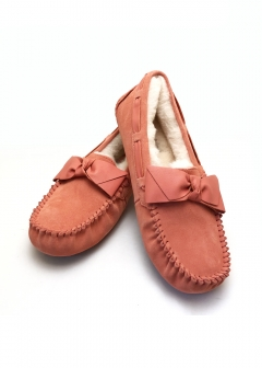 【Price Down】UGG 1020031 DAKOTA LEATHER BOW