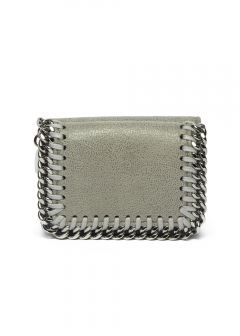 3つ折りミニ財布 / TRIFOLD FALABELLA 【LIGHT GREY】