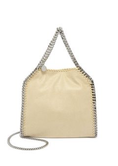 2WAYハンドバッグ / SHAGGY DEER FALABELLA MINI 【CLOTTED CREAM】