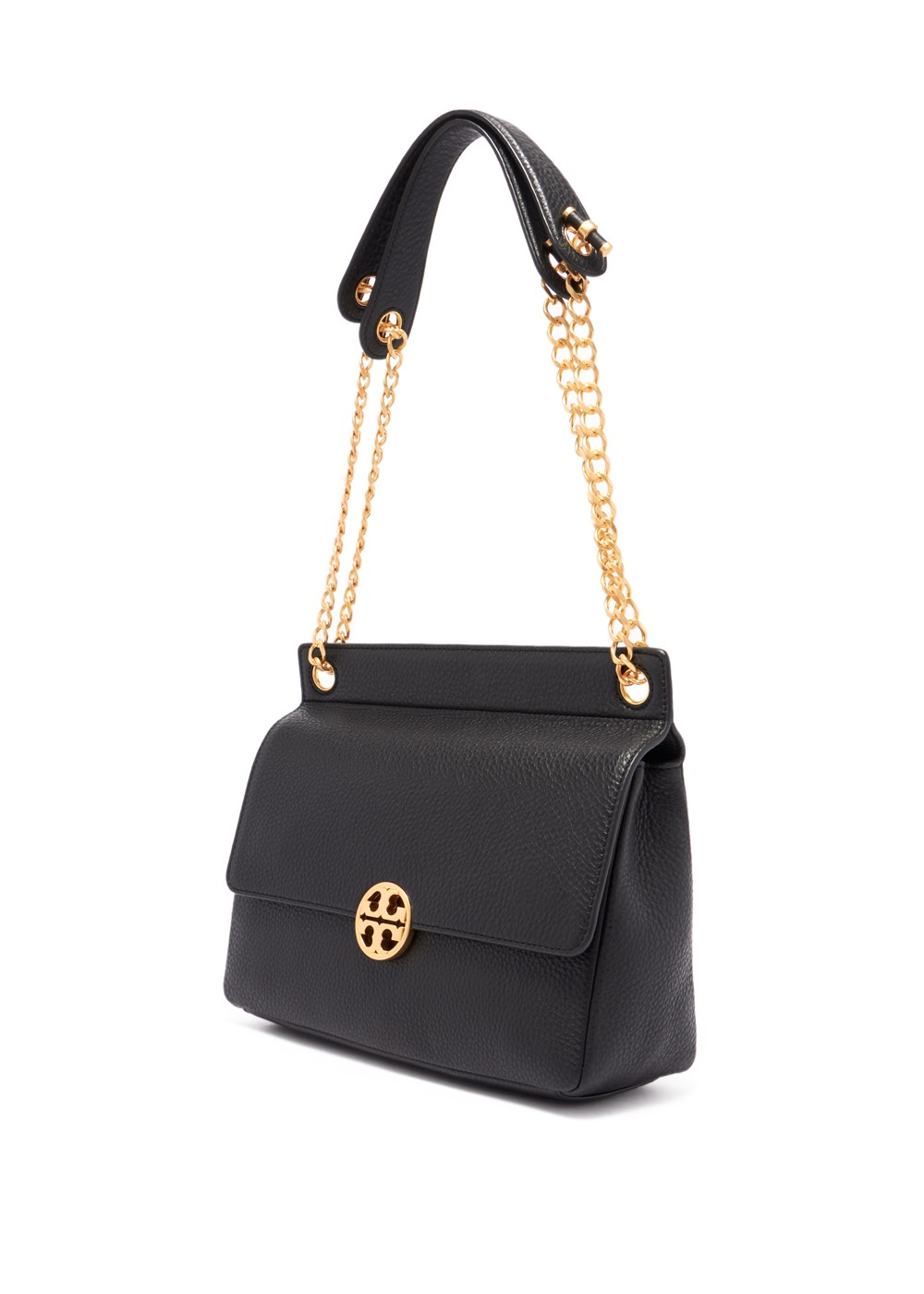 【最大42%OFF】CHELSEA FLAP SHOULDER BAG|BLACK|ショルダーバッグ|Tory Burch