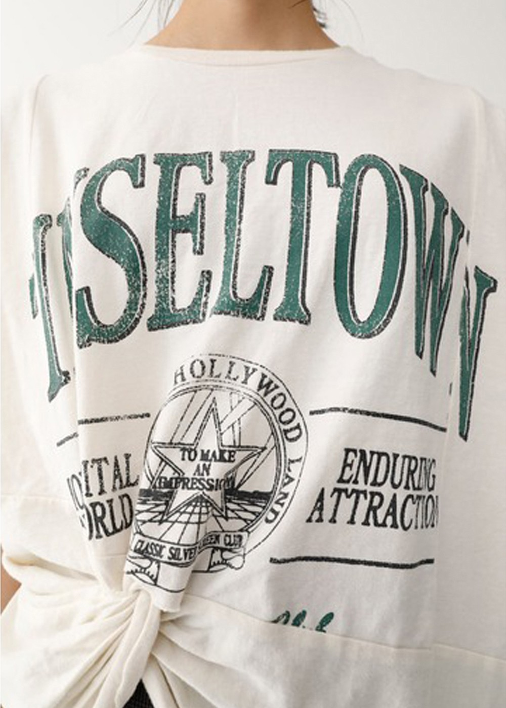 【最大60%OFF】TINSELTOWN REMAKE LIKE TSJ|WHT|Tシャツ|MOUSSY