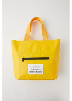 【最大70%OFF】SW BIG VINYL TOTE|YEL|トートバッグ|MOUSSY