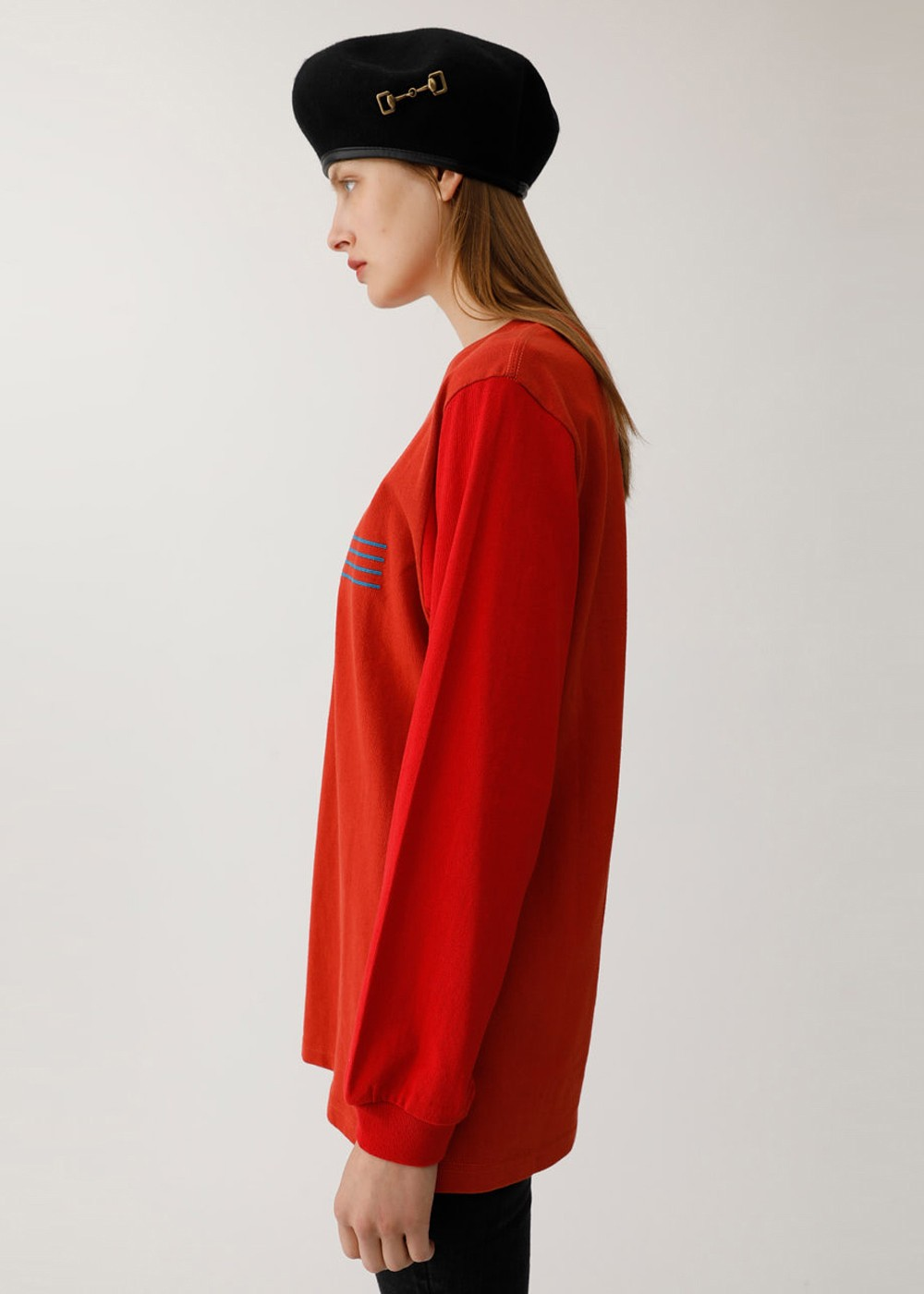 【最大60%OFF】FAMS LS TSJ|D/RED|Tシャツ|MOUSSY