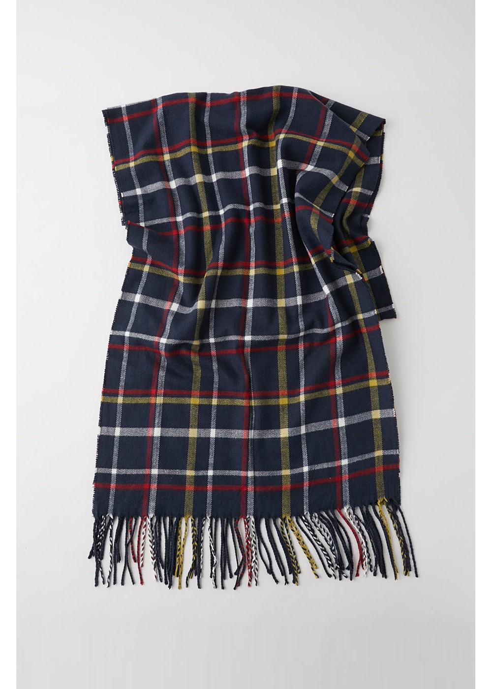 【最大60%OFF】BIG CHECK SCARF|柄NVY|スカーフ|MOUSSY