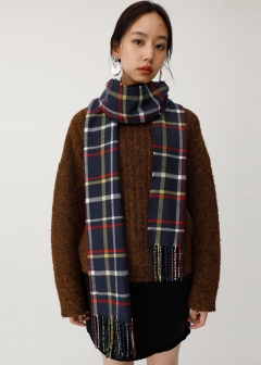 BIG CHECK SCARF