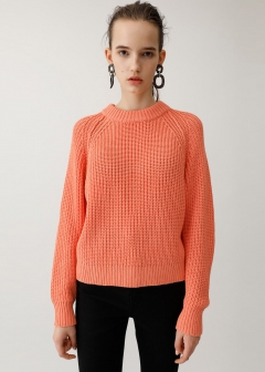 LILY YARN RIB KNIT TOPS