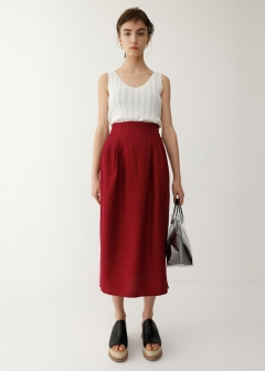 ETHNIC COCOON SKIRT