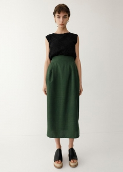 【最大70%OFF】ETHNIC COCOON SKIRT|PUR|膝丈スカート|MOUSSY