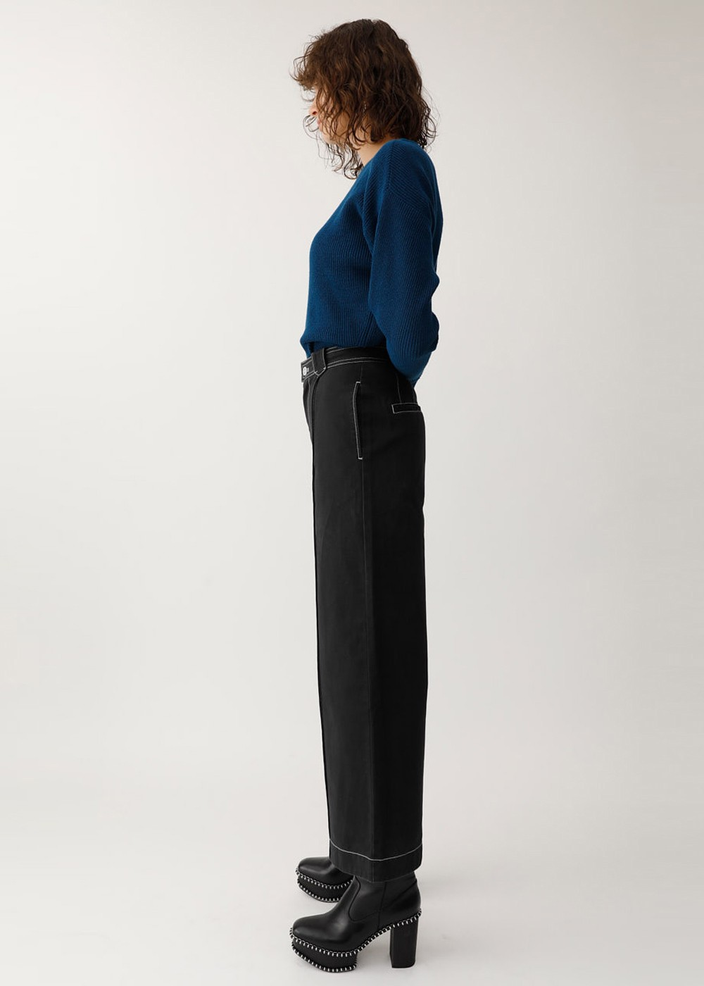 【最大60%OFF】PIN TUCK WIDE PANTS|BLK|ワイド|MOUSSY