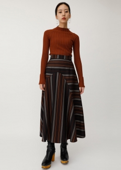 MULTI STRIPE SKIRT
