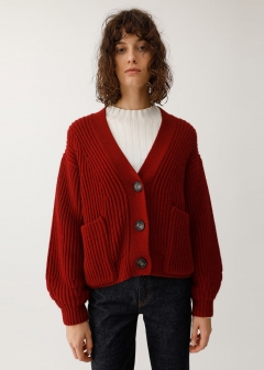 CHANKY SHORT CARDIGAN