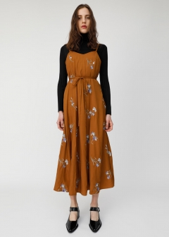 IRIS EMBROIDERY DRESS