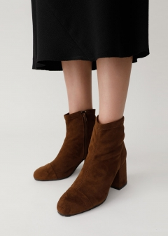 STRETCH F/SUEDE BOOTS