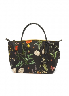 ROBERTA PIERI - FLOWER NATURAL MINI DUFFEL