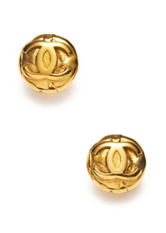VINTAGE - Accessories - - CHANEL ココイヤリングGD 97P
