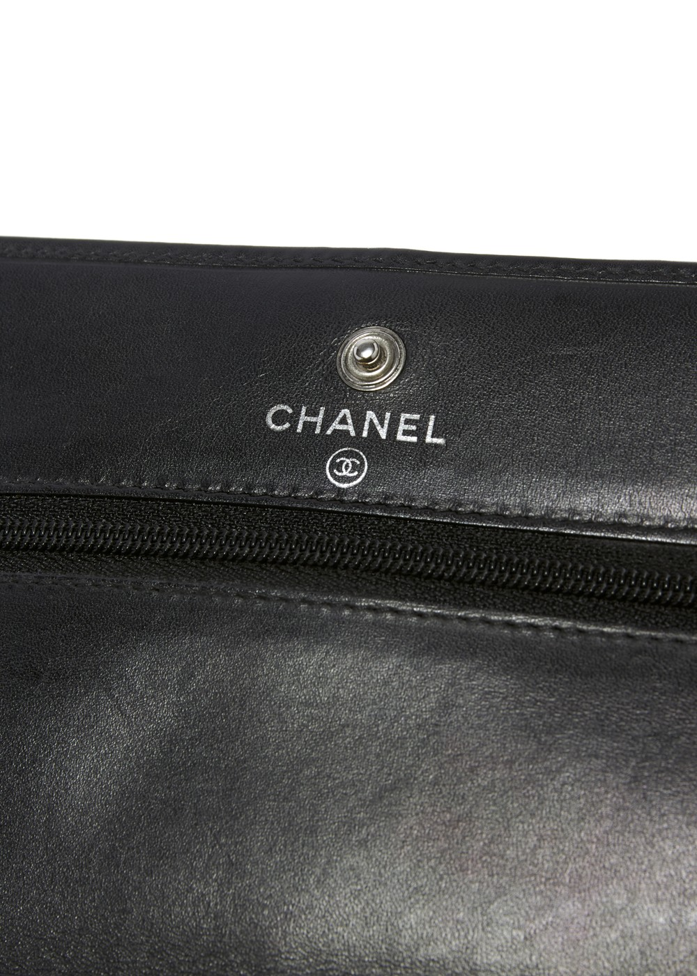 CHANEL A46646 チェーンウォレット エナメルココ×黒|OTHER|ショルダーバッグ|VINTAGE BRAND COLLECTION_(I)