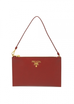 PRADA - Bag - LEATHER CLUTCH BAG
