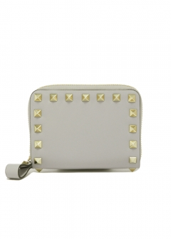 VALENTINO - ROCKSTUD ZIP COIN PURSE