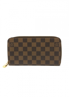 Louis Vuitton N60015 ジッピーウォレット ダミエ