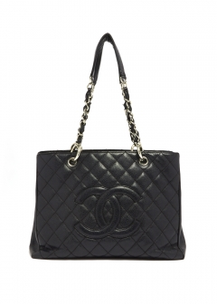 CHANEL - vintage selection - - CHANEL GST トートバッグ キャビア