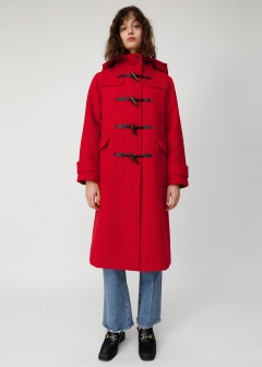 MELTON LONG DUFFLE COAT