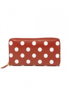 COMME des GARCONS - POLKA DOTS PRINTED WALLET