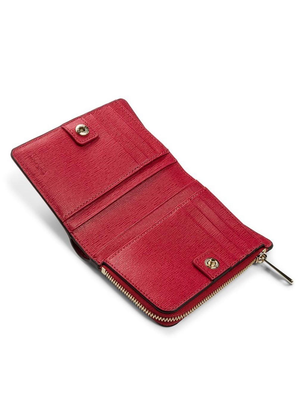 aaac30c11497 最大57%OFF】【2/12入荷】フルラ 二つ折り財布|レッド|レディース財布 ...