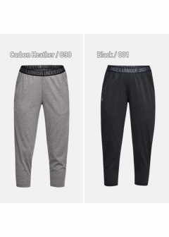 UNDER ARMOUR レディース PLAY UP CAPRI-SOLID|カーボンヘザー|その他パンツ|UNDER ARMOUR