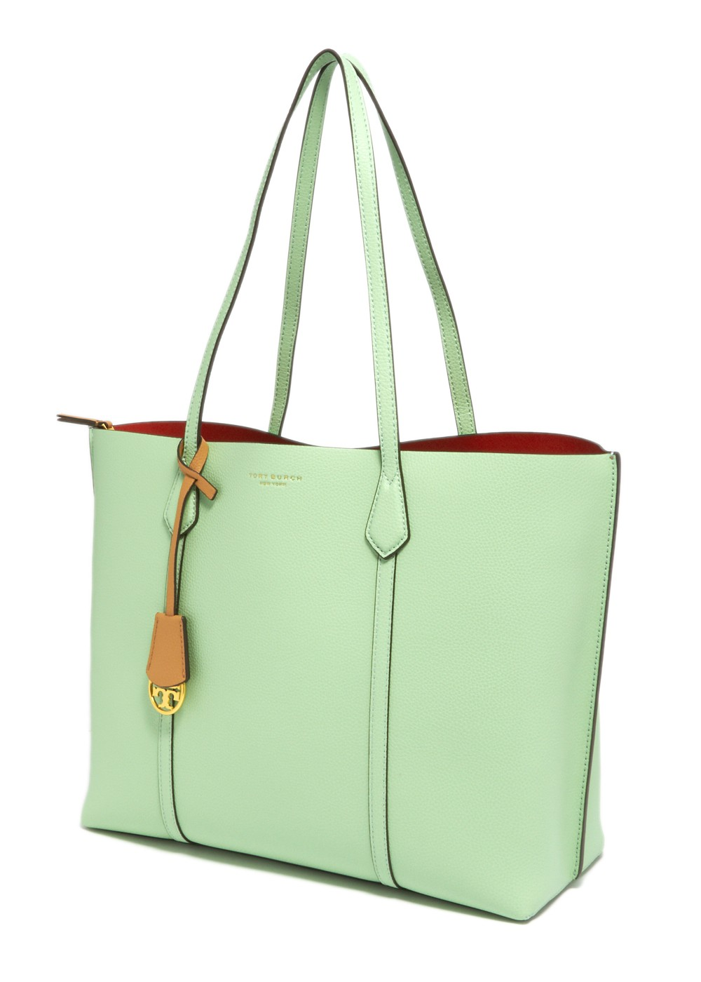 【最大47%OFF】PERRY TRIPLE COMPARTMENT TOTE|MINT GREEN|トートバッグ|Tory Burch