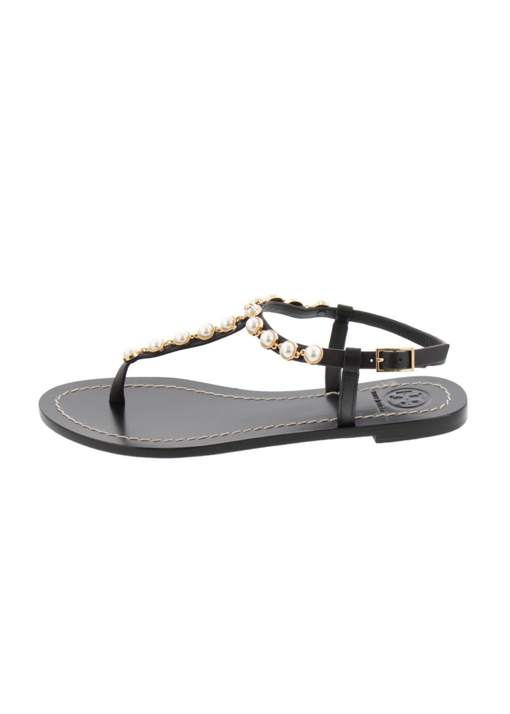 【最大48%OFF】EMMY PEARL SANDAL|PERFECT BLACK|サンダル|Tory Burch
