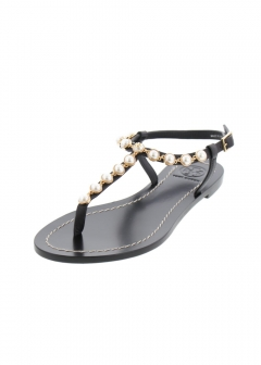 【最大47%OFF】EMMY PEARL SANDAL|PERFECT BLACK|サンダル|Tory Burch