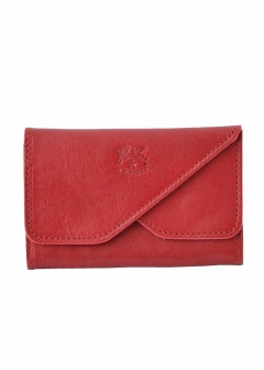 IL BISONTE - Red カードケース 名刺入れ CARD CASE