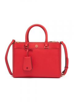 Tory Burch - ROBINSON SMALL DOUBLE-ZIP TOTE
